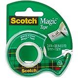 Scotch Magic Transparent Tape, Refill Dispenser, 3/4 X 300 Inch