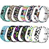 Watch Bands Compatible for Garmin Vivofit 3 Bands/Vivofit Band/JR/Vivofit JR 2 Bands Sport Replacement Wristbands for Girls W