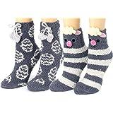 Red Bene Women's Animal Fuzzy Socks