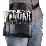 DFIEER 22 Pockets Professional Cosmetic Makeup Brush Bag with Artist Belt Strap for Women Artist's Pocket Makeup Artist Apron