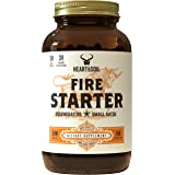 Heart & Soil Firestarter Supplement — High Stearic Acid Grass Fed Tallow from Suet to Support Healthy Weight, Energy, and Exe