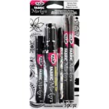 Tulip T33702 Fabric Markers 5Pc Variety Black