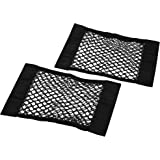 Trunk Storage Net, Dimik [2 Pack] Car Storage Net - Bottles, Groceries, Storage Add On Organizers for Car Truck