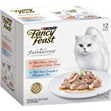 Fancy Feast Inspirations Salmon and Tuna Multipack, Adult, 24x70 g