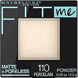 MAYBELLINE(メイベリン) フィットミー パウダー M ファンデーション 110 明るい肌色(イエロー系) 8.5g