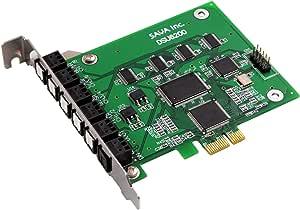 PURE SPEED DOLBY/DTS/192KHz対応・7.1ch・PCI-Expressサウンドカード DSU6200