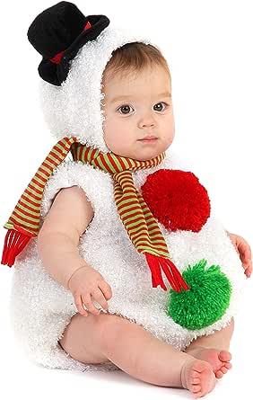 Baby Snowman Infant/Toddler Costume 赤ちゃん雪だるま乳児/幼児コスチューム サイズ:12/18 Months