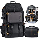 TARION PB-01 Camera Backpack Large Capacity Photography Outdoor Traveling Multi-Function Bag with Associate Single Shoulder C