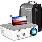 "Full HD Native 1080P Projector, FANGOR 701 Bluetooth Wi-Fi Projector, Full Sealed Design/4D Keystone Correction/300"" Display/"