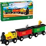 BRIO ( ブリオ ) WORLD サファリトレイン [3両編成] 対象年齢 3歳~ ( 電車のおもちゃ 木のレール 機関車 ) 33722