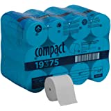 Compact Coreless 2-Ply Recycled Toilet Paper by GP PRO (Georgia-Pacific), 19375, 1000 Sheets Per Roll, 36 Rolls Per Case, Whi