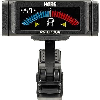 KORG 100時間連続駆動 ギター専用 クリップ式チューナー AW-LT100G
