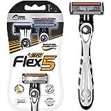 BIC Flex 5 Disposable Men's Razors - Pack of 2 Shavers