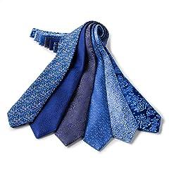 Penrose Silk Blue Tie