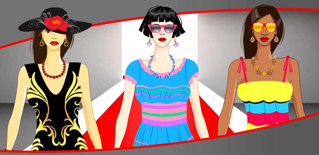 ファッションモデルドレスアップゲーム