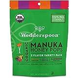 Wedderspoon Organic Manuka Honey Pops for Kids, Variety, 117.65g