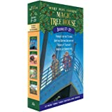 Magic Tree House Volumes 17-20 Box Set: The Mystery of the Enchanted Dog