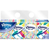 Kleenex Ultra Soft Pocket Tissue, 3 PLY, Floral, 32 Count (Pack of 8)