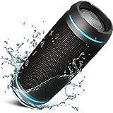 TREBLAB HD77 - Revolutionary Portable Bluetooth Speaker - 360° True Wireless Stereo, Loudest 25W HD Sound, Loud Powerful Bass