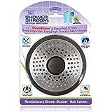 ShowerShroom SHSULT755 Ultra Revolutionary Shower Hair Catcher Drain Protector, Stainless