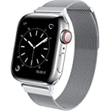 BRG コンパチブル Apple Watch バンド コンパチブル アップルウォッチバンド ステンレス留め金製 コンパチブル Apple Watch ベルト コンパチブル Apple Watch SE/7/6/5/4/3/2/1