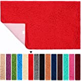 Bathroom Rugs Non Slip Bath Mat ORANIFUL Microfiber Plush Super Water Absorbent Machine Wash/Dry Shaggy Toilet Mat Extra Soft