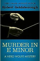 Murder in E Minor (The Nero Wolfe Mysteries Book 1) Kindle Edition