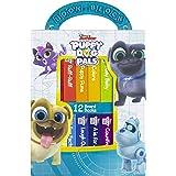 Disney Puppy Dog Pals - My First Library 12 Board Book Block Set - PI Kids