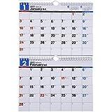 高橋 2021年 カレンダー 壁掛け 2ヶ月 B5×2面 E91 ([カレンダー])