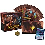 Magic: The Gathering Strixhaven Bundle | 10 Draft Boosters (150 Magic Cards) + Accessories