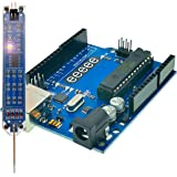 EEEEE UNO R3 ATMEGA328P ATMEGA16U2 & Logic Probe (2 in 1) Digital Logic Tester, Compatible with Arduino IDE