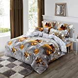 Christmas Quilt Cover/Duvet Cover/Doona Cover Set (Double)