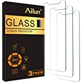 Ailun for Apple iPhone 11 Pro/iPhone Xs/iPhone X Screen Protector 3 Pack 5.8Inch Display Tempered Glass 2.5D Edge Advanced HD