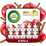 Air Wick Air wick plug in scented oil 10 refills, apple cinnamon, 10 Count