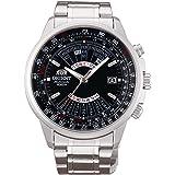 [オリエント時計] 腕時計 オリエント 自動巻 万年カレンダー 海外モデル SEU07005BX メンズ シルバー