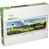 950ピース ジグソーパズル スタジオジブリ背景美術シリーズ となりのトトロ 夕暮れ (34x102cm)