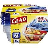 Glad Entrée Containers With Lids, 5s