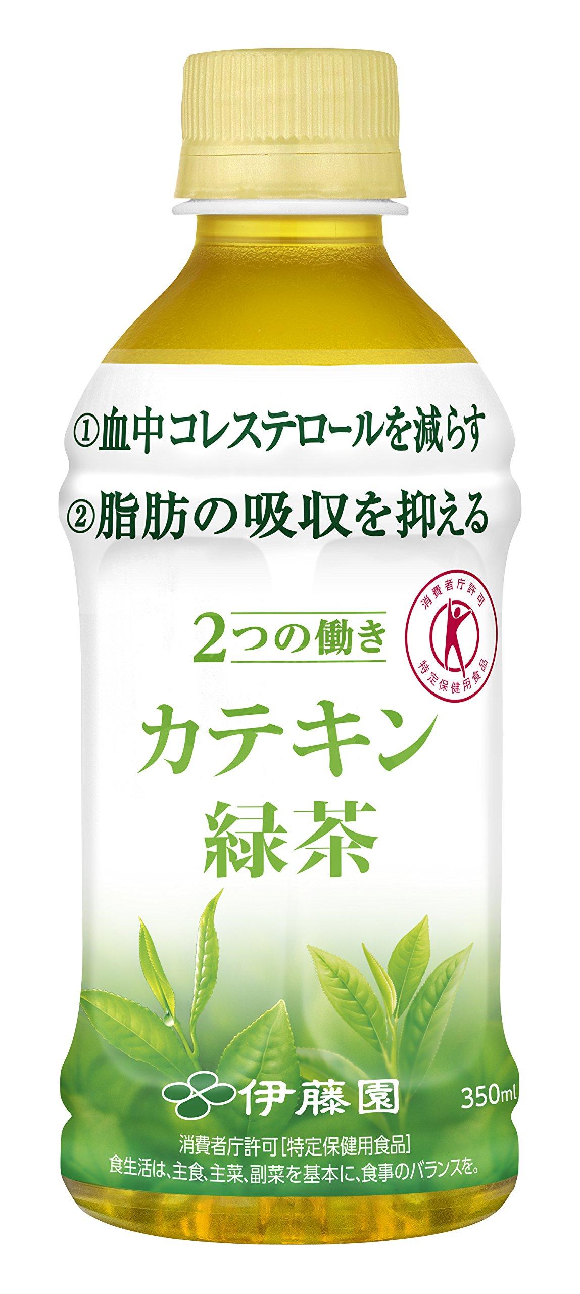 2つの働き カテキン緑茶 ペット 350mlx24本 (トクホ)
