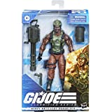 Hasbro G.I. Joe Classified Series Heavy Artilery Roadblock Action Figure 28 Collectible Premium Toy 6-Inch-Scale with Custom