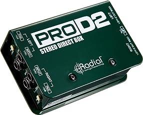 【国内正規品】 Radial ステレオ・ダイレクトボックス PRO D2 RD1102