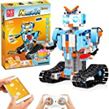 STEM Robot Toys For Kids, Cool Science Building Block Kit For Boy And Girl, Fun Educational Remote Control Toy with App Contr