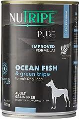Nutripe Pure Ocean Fish & Green Tripe Wet Dog Food, 390g