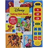 Disney Frozen, Toy Story, and More! - Talking Quiz Sound Book - Over 200 Interactive Questions on Disney and Pixar Films - PI