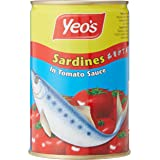 Yeo's Sardines with Tomato sauce, 425 g