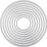 Sizzix 枠 サークル(直径2.8cm ~10.8cm 8サイズ) 657551【日本正規品】
