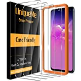 [4 Pack] UniqueMe Compatible with Samsung Galaxy S10e Screen Protector,[Japan Tempered Glass] 9H Hardness with Lifetime Repla