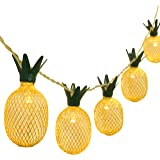 BETUS 6.5 Ft 10 LEDs Pineapple Fairy String Light - Decor Gifts Battery Operated for DIY Christmas Tropical Theme Party Festi