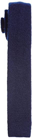 Wool Indigo Knit Tie 11-44-0219-441