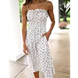 The Drop Women's Ivory Floral Print Smocked Midi Dress by @laurenkaysims