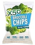 X50 Broccoli Chips Sea Salt 60g